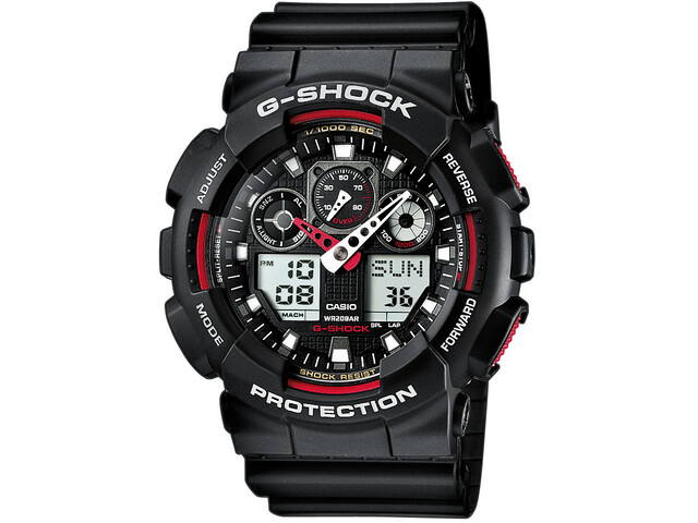 CASIO G-SHOCK GA-100-1A4ER Watch Herrer, black